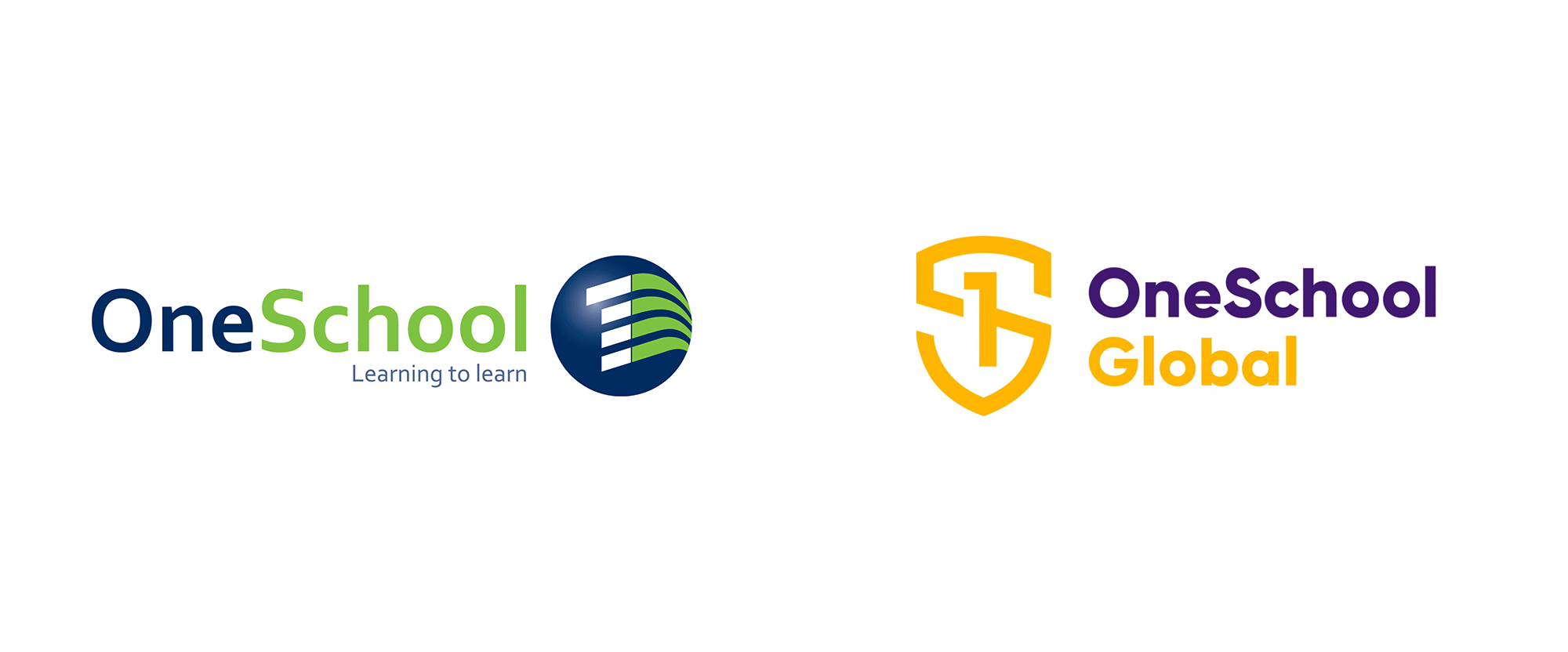 New Logo and Identity for OneSchool Global by Hulsbosch