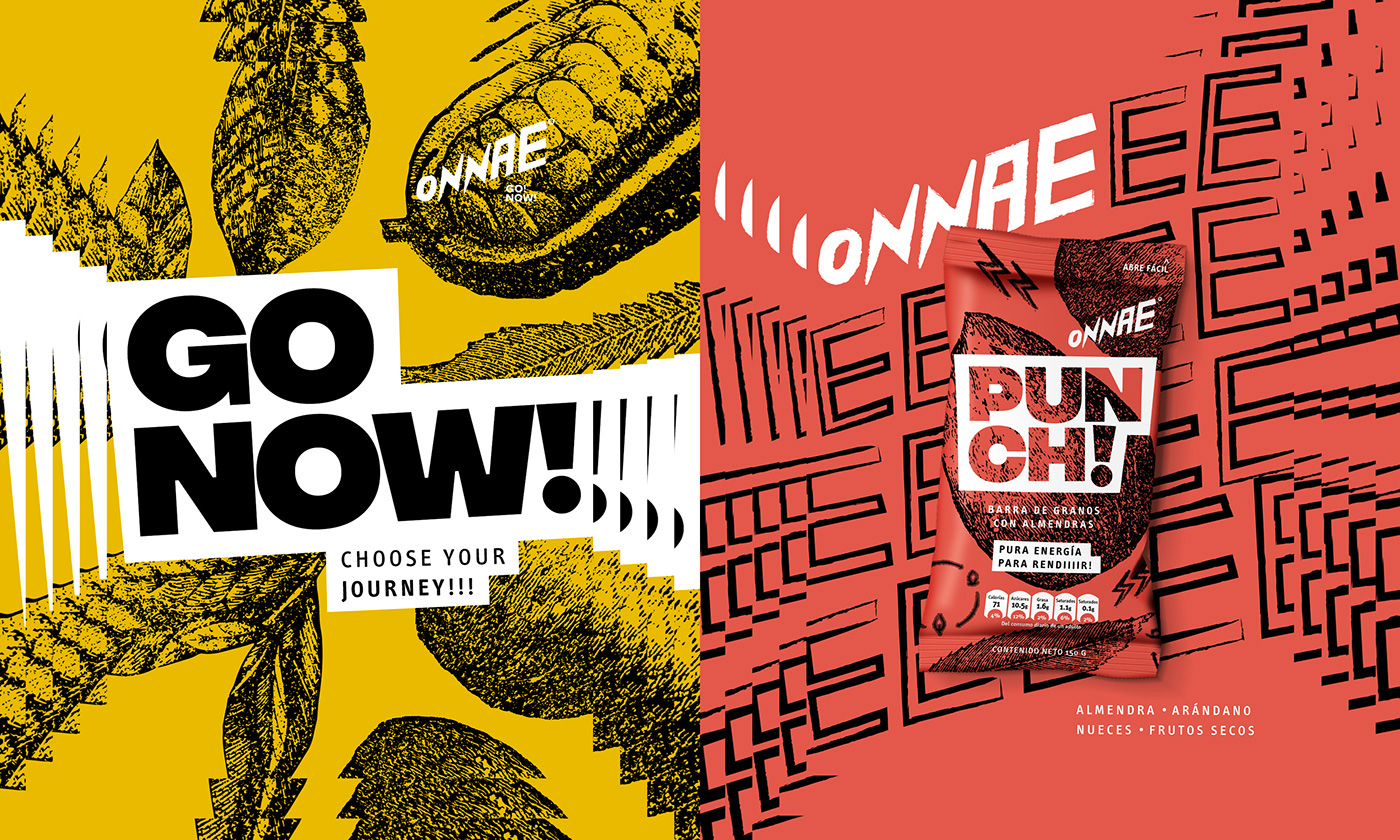 New Logos and Packaging for Onnae & Punch Bar by GrupoW