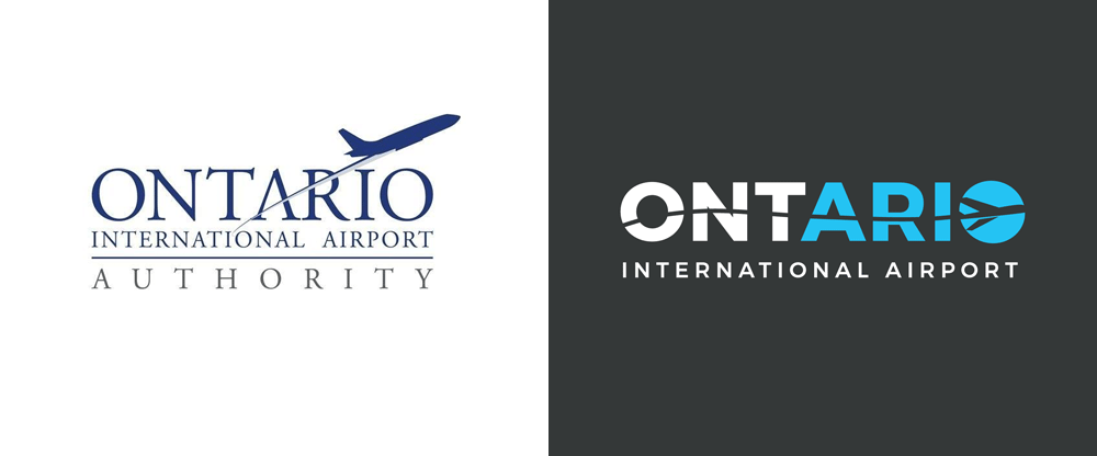 New Logo for Ontario International Airport by Guge Marketing and Fraser Communications