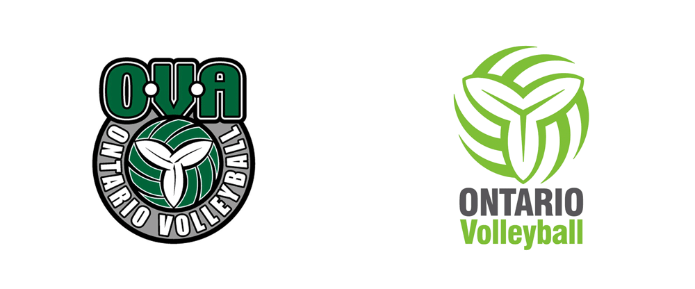 New Logo for Ontario Volleyball Association by K Design Studio