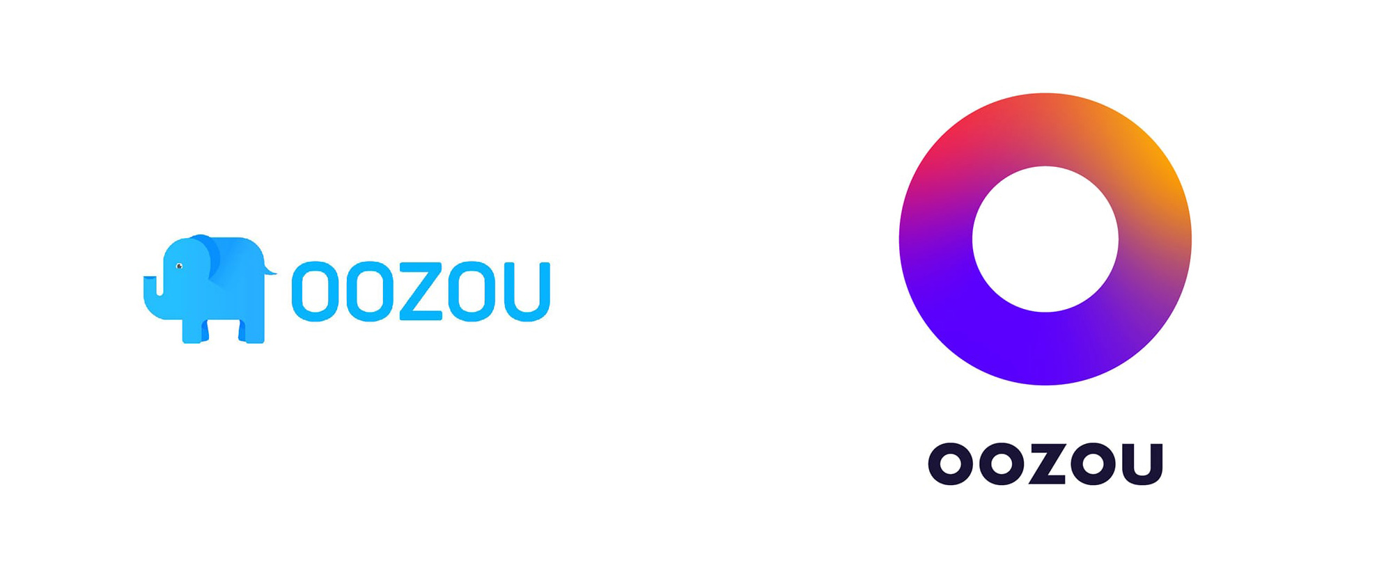 New Logo and Identity for oozou by Mandala Studio