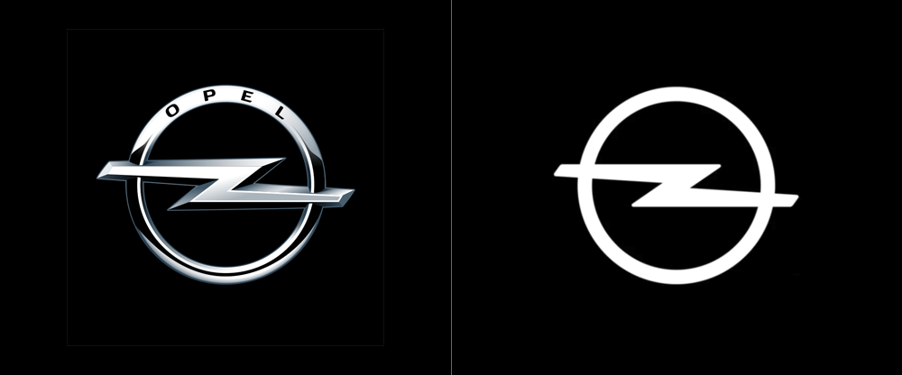 New Logo for Opel