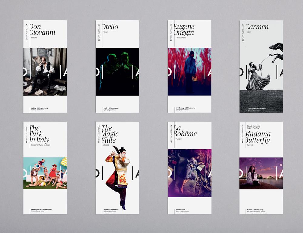 New Logo and Identity for Opera Australia by Interbrand Sydney