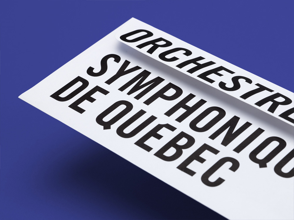 New Logo and Identity for Orchestre Symphonique de Québec by lg2