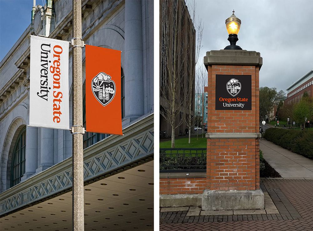 New Logo and Identity for Oregon State University by Pentagram