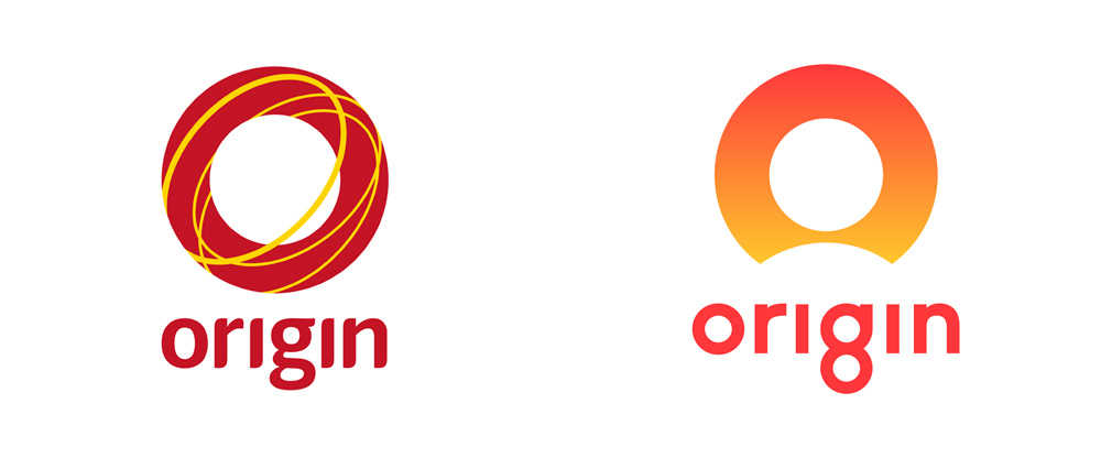 New Logo for Origin