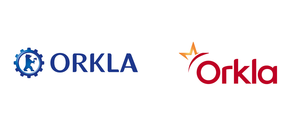 New Logo for Orkla by Grid