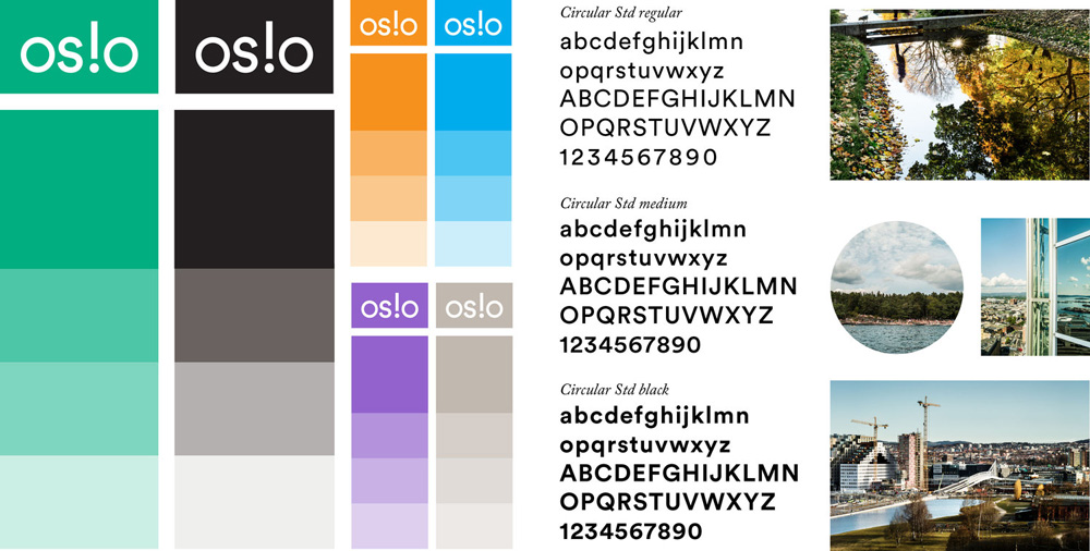 New Logo and Identity for Oslo Business Region by Metric