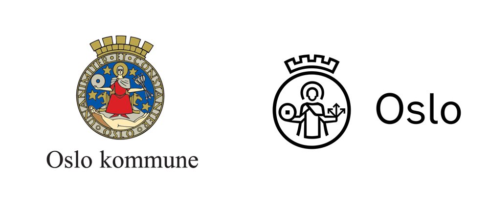 New Logo and Identity for Oslo Kommune by Creuna