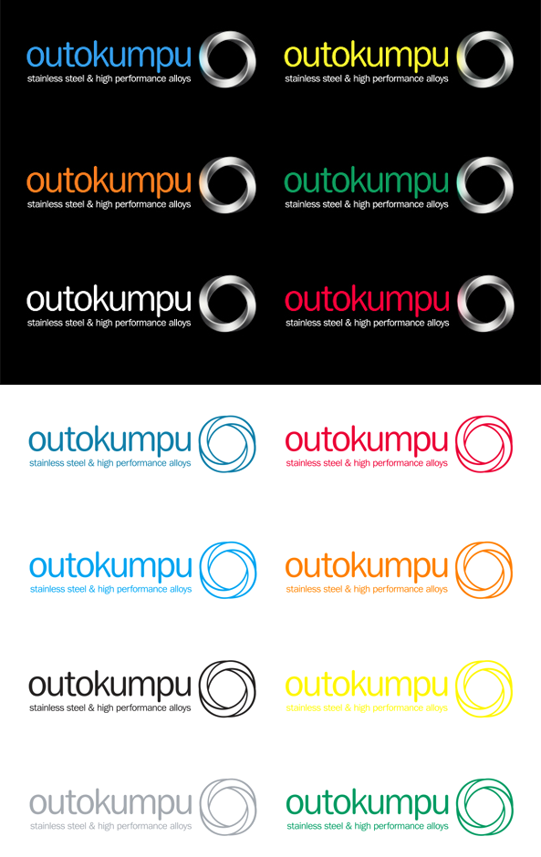 New Logo and Identity for Outokumpu by N2 Nolla