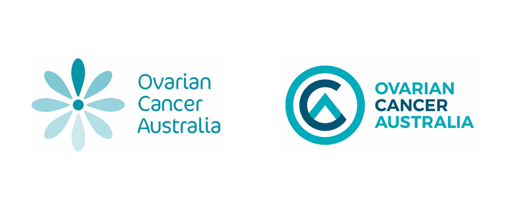 New Logo for Ovarian Cancer Australia by Principals