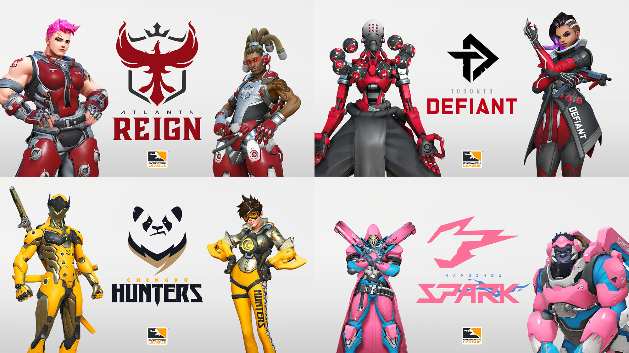 Overwatch League Teams