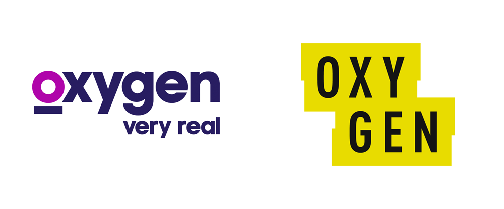 New Logo for Oxygen Media by Trollbäck + Company