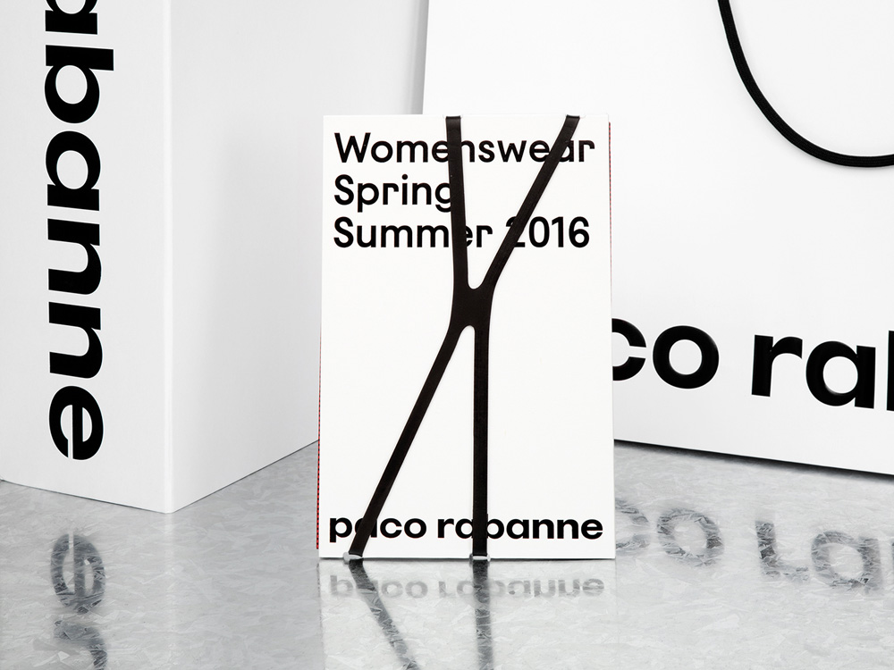 New Logo and Identity for Paco Rabanne by Zak Group