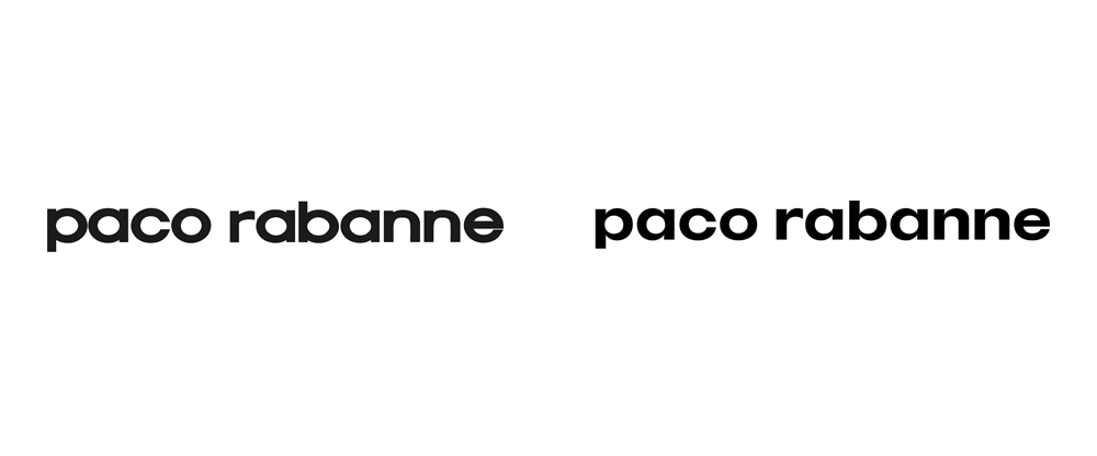brand new new logo and identity for paco rabanne by zak group