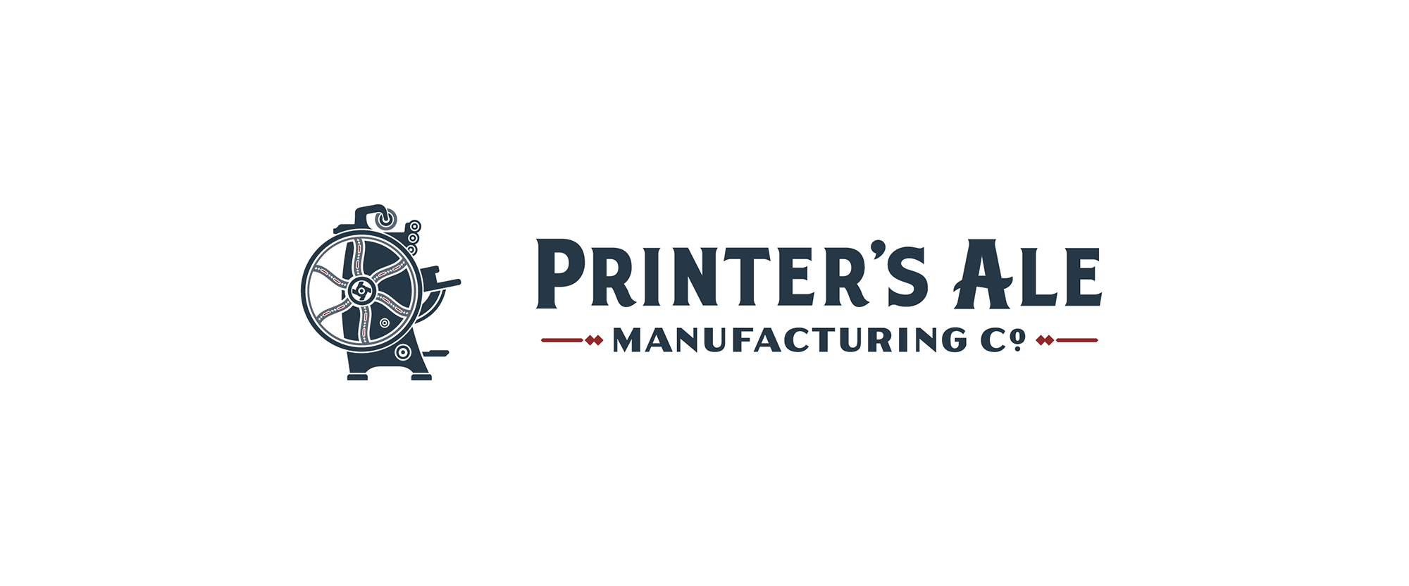 New Logo and Packaging for Printer's Ale Manufacturing Co. by CODO