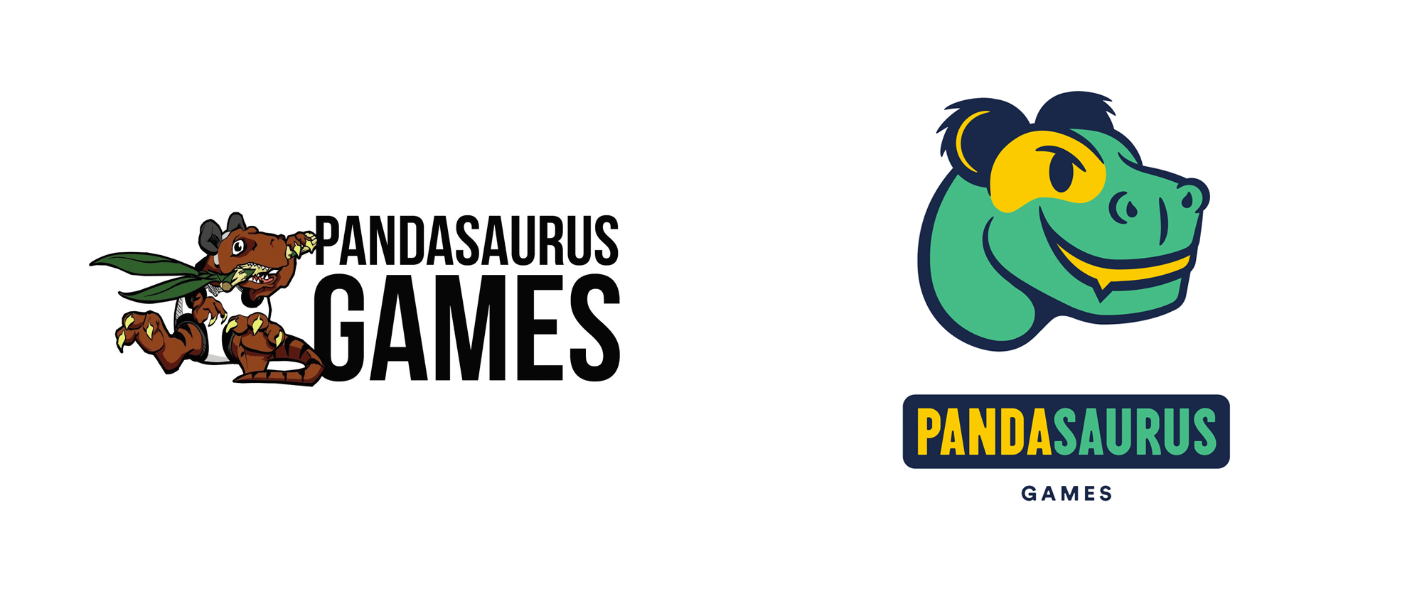 New Logo for Pandasaurus Games by Helms Workshop