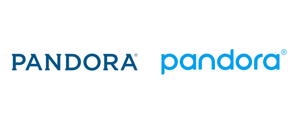 New Logo and Identity for Pandora