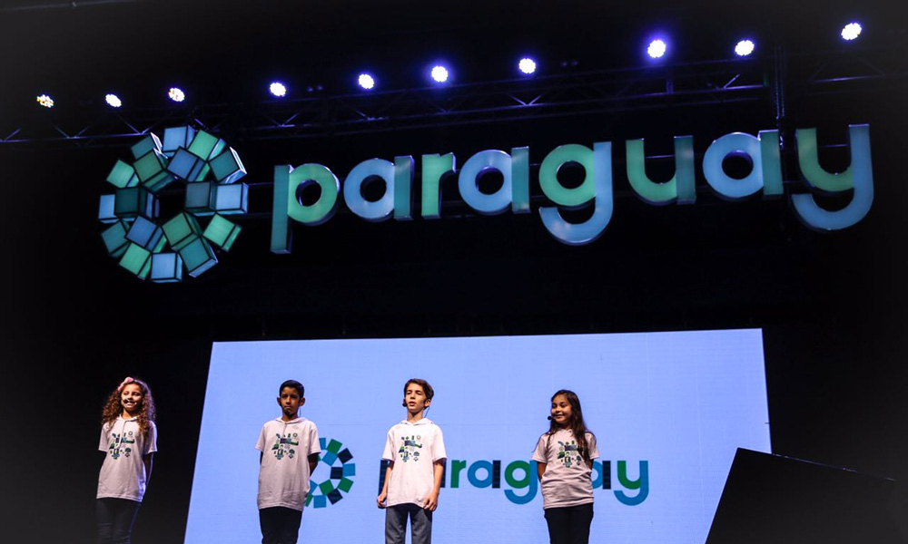 New Logo and Identity for Paraguay by Kausa, UMA, and Bloom Consulting