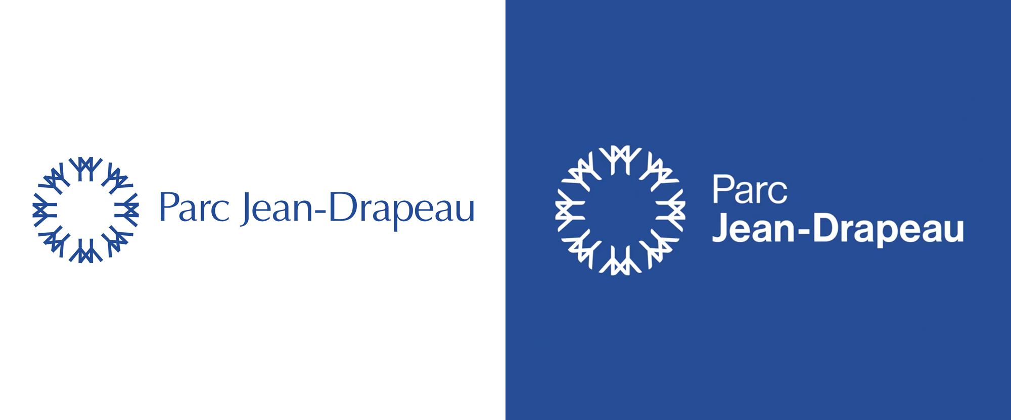 New Logo for Parc Jean-Drapeau by Cabana Séguin