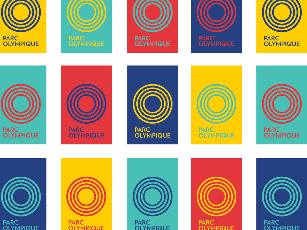 Brand New: New Logo and Identity for Parc Olympique by lg2boutique