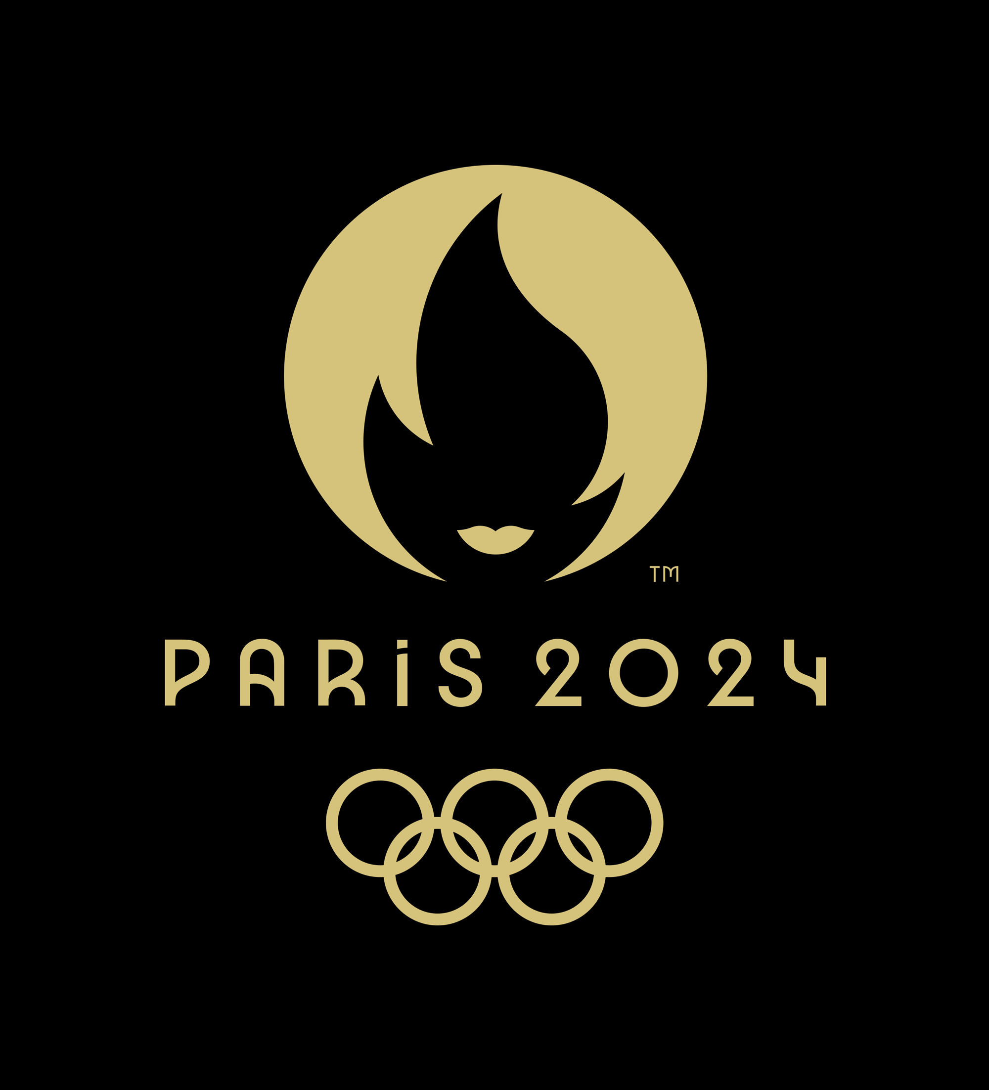 New Emblem for 2024 Summer Olympics by Royalties Ecobranding