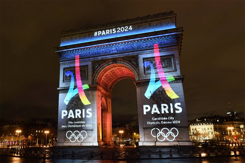 New Logo for Paris 2024 Candidate City by Dragon Rouge
