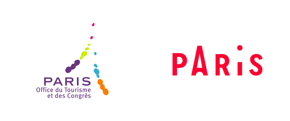 New Logo and Identity for Paris Convention and Visitors Bureau by Graphéine