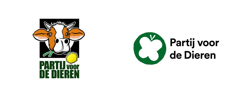 New Logo for Partij voor de Dieren by Thonik