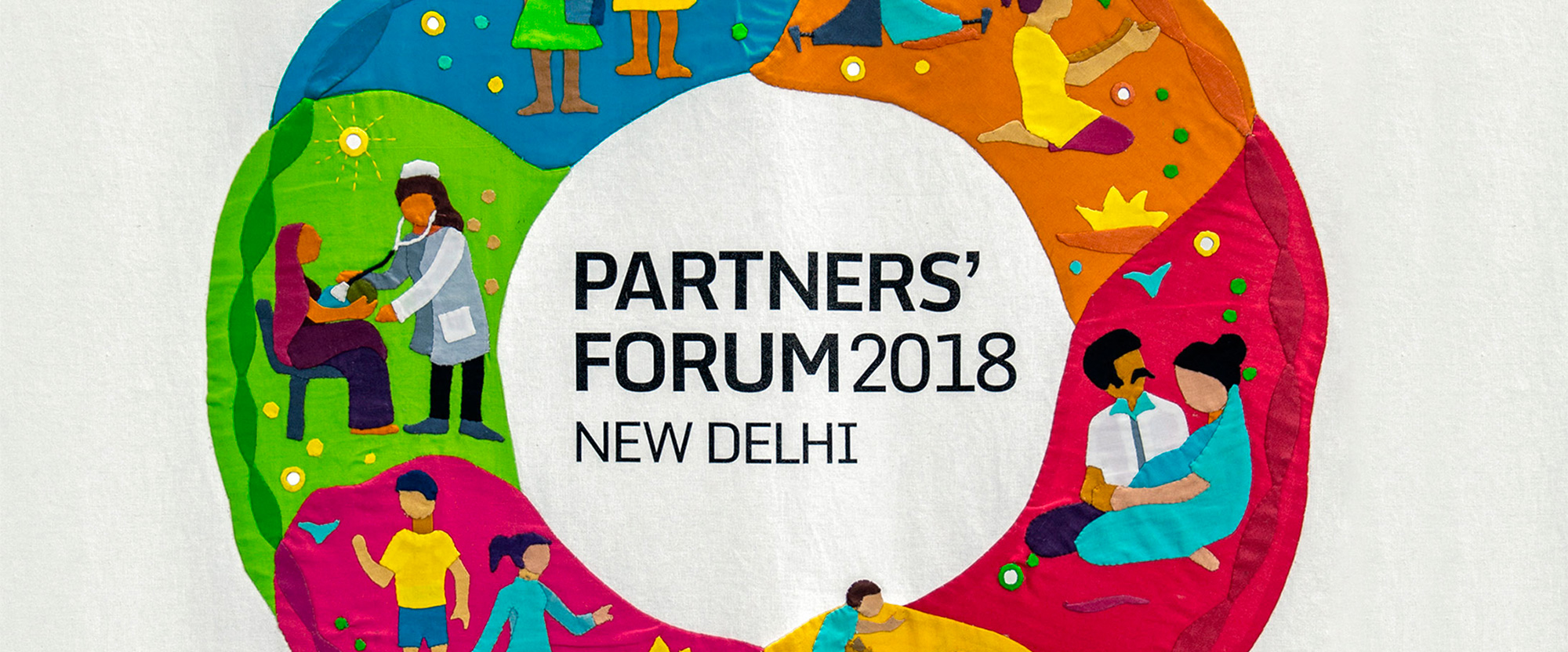 New Logo and Identity for 2018 PMNCH Partners' Forum by Lopez Design