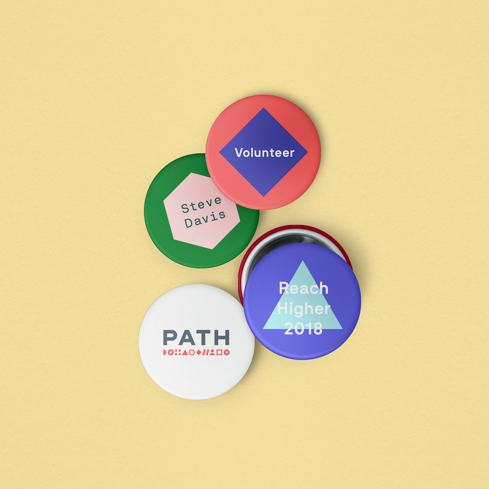 New Logo and Identity for PATH by Manual