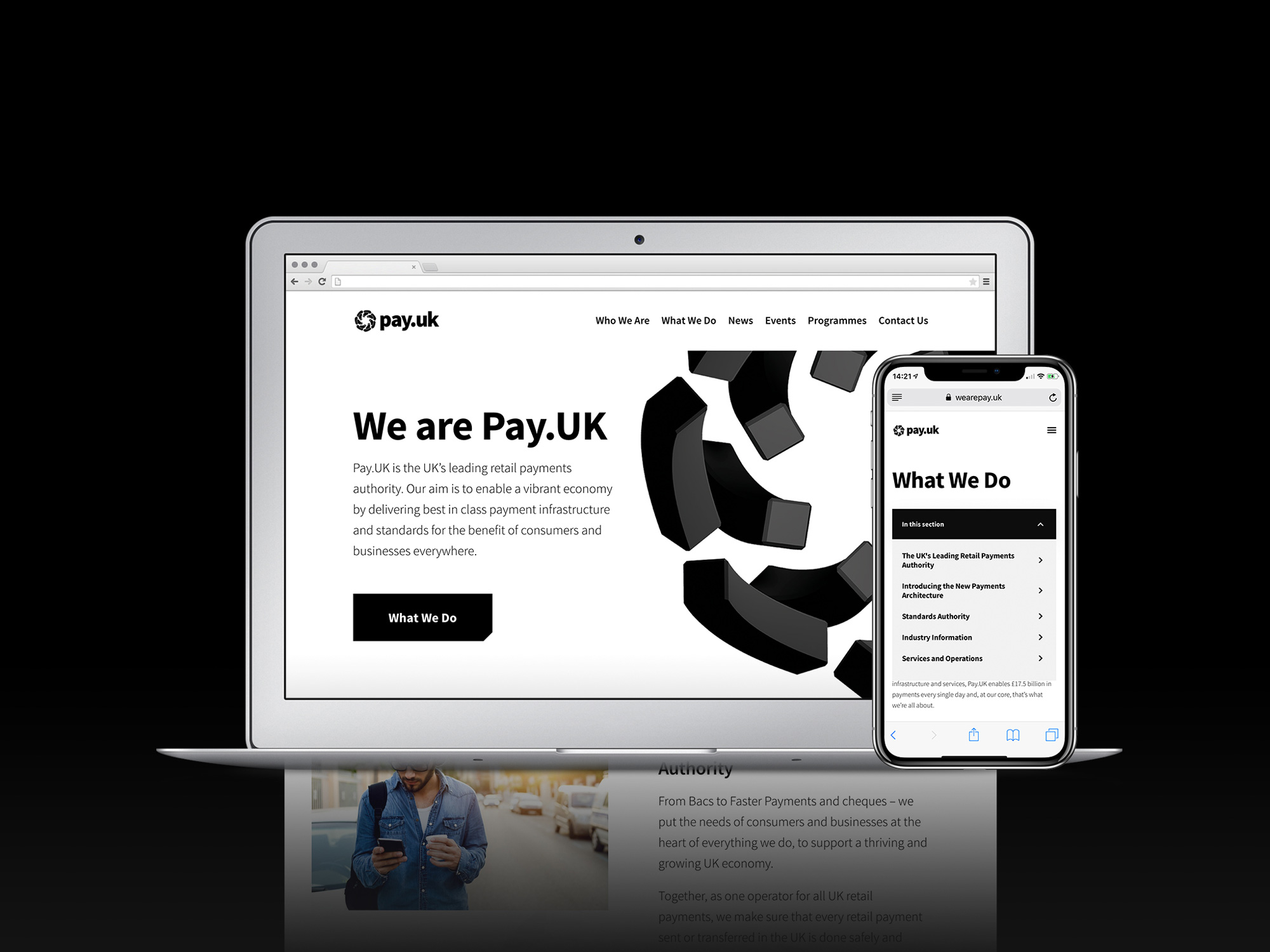 New Name, Logo, and Identity for Pay.UK by SomeOne