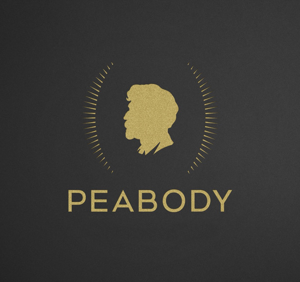 brand new new logo and identity for peabody awards by