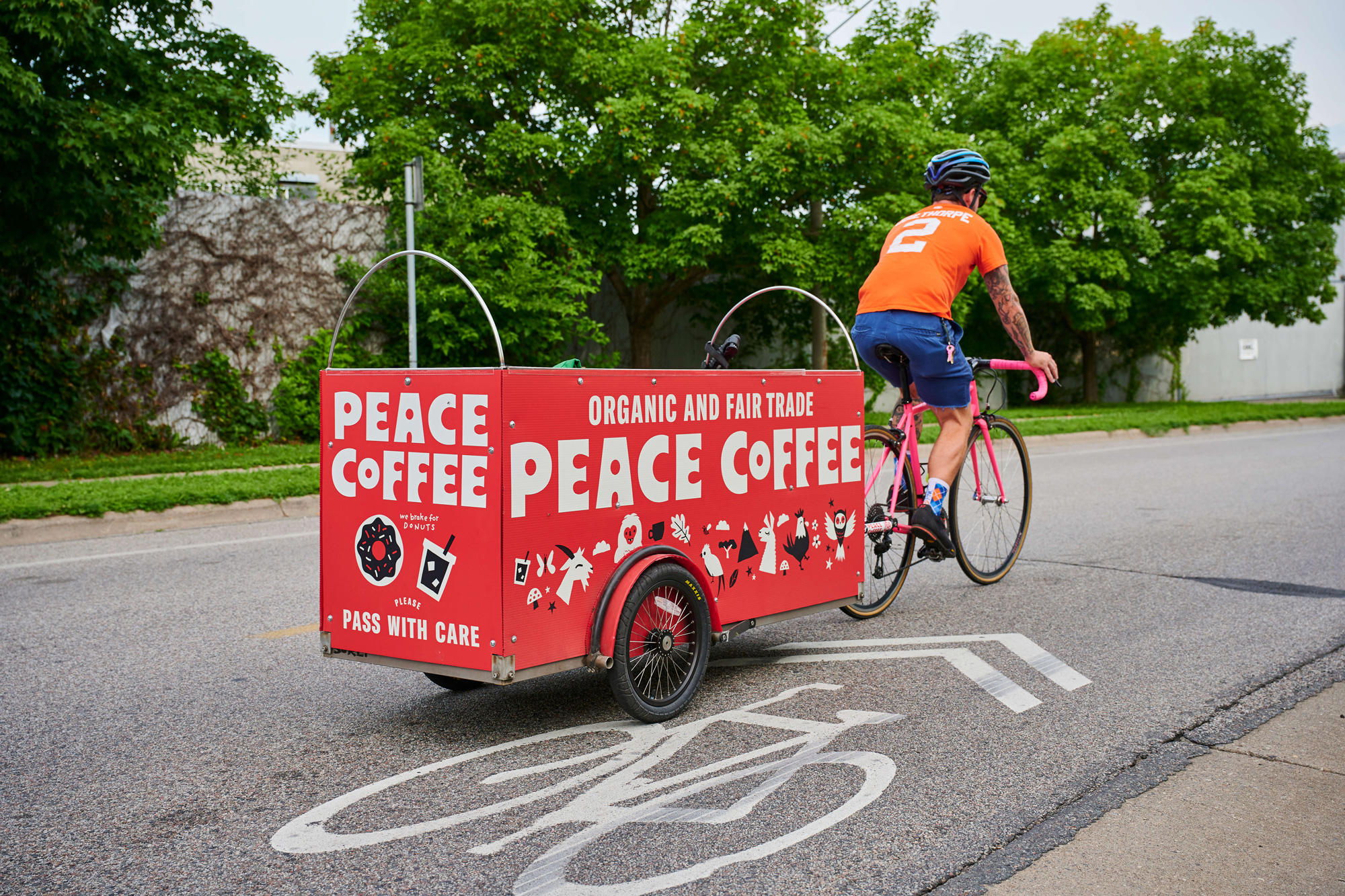 New Logo, Identity, and Packaging for Peace Coffee by Werner Design Werks