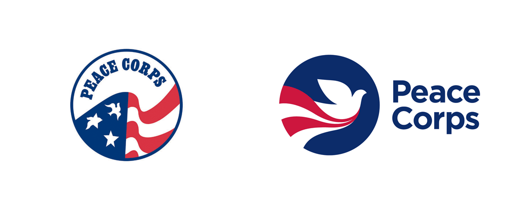 New Logo for Peace Corps by Ogilvy Washington