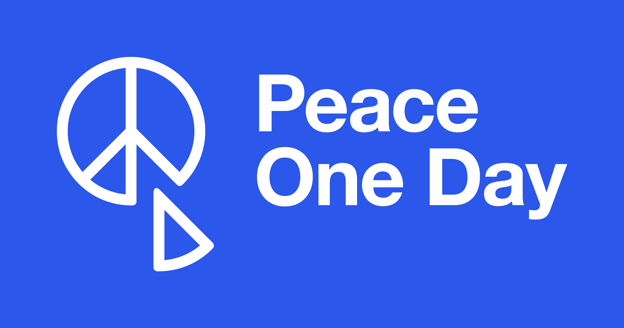 New Logo and Identity for Peace One Day by Interbrand