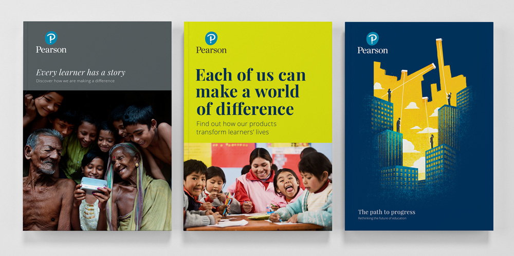 New Logo and Identity for Pearson by Freemavens and Together Design