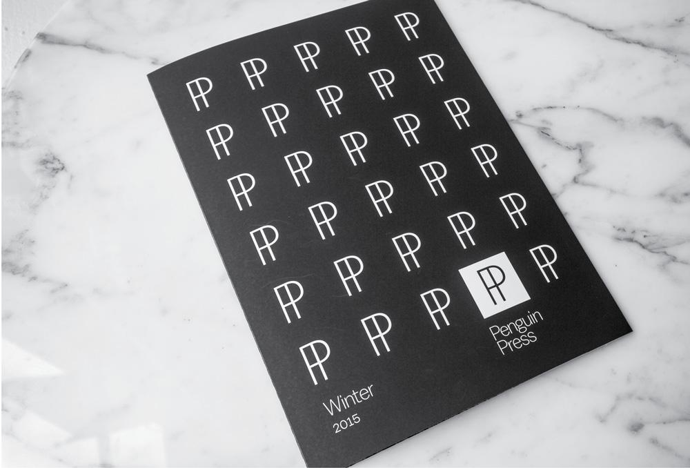 New Logo for Penguin Press by Pentagram