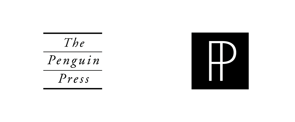 New Logo for Penguin Press by Pentagram