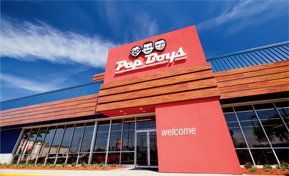Brand New: New Logo for Pep Boys