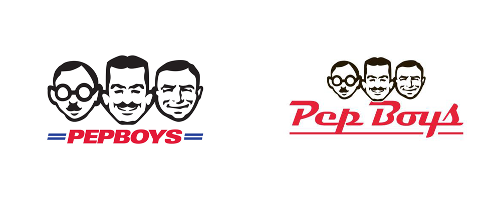 New Logo for Pep Boys