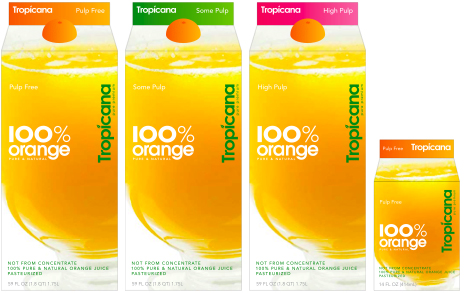 Tropicana Packaging