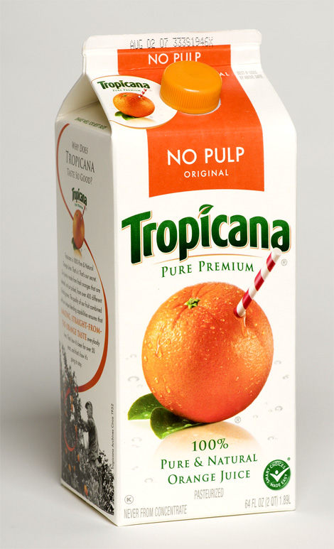 Tropicana Packaging Old