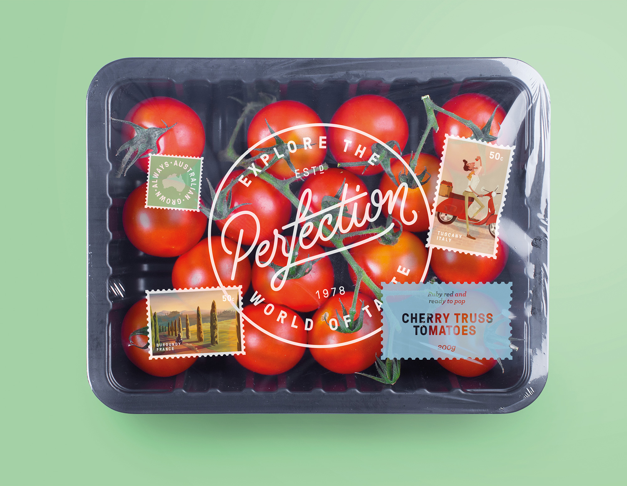 New Logo and Identity for Perfection Fresh by Interbrand