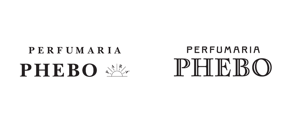 New Logo for Parfumaria Phebo by Plau
