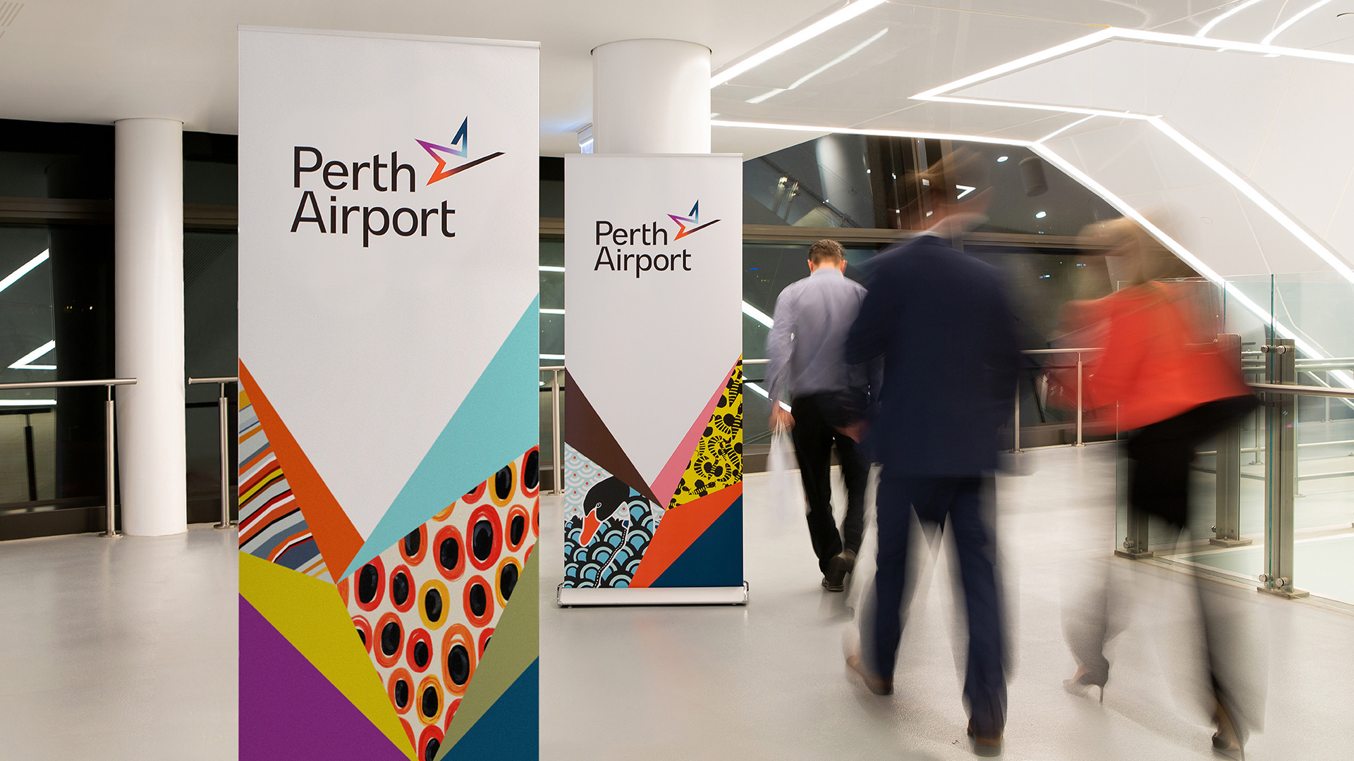 New Logo and Identity for Perth Airport by PUSH Collective