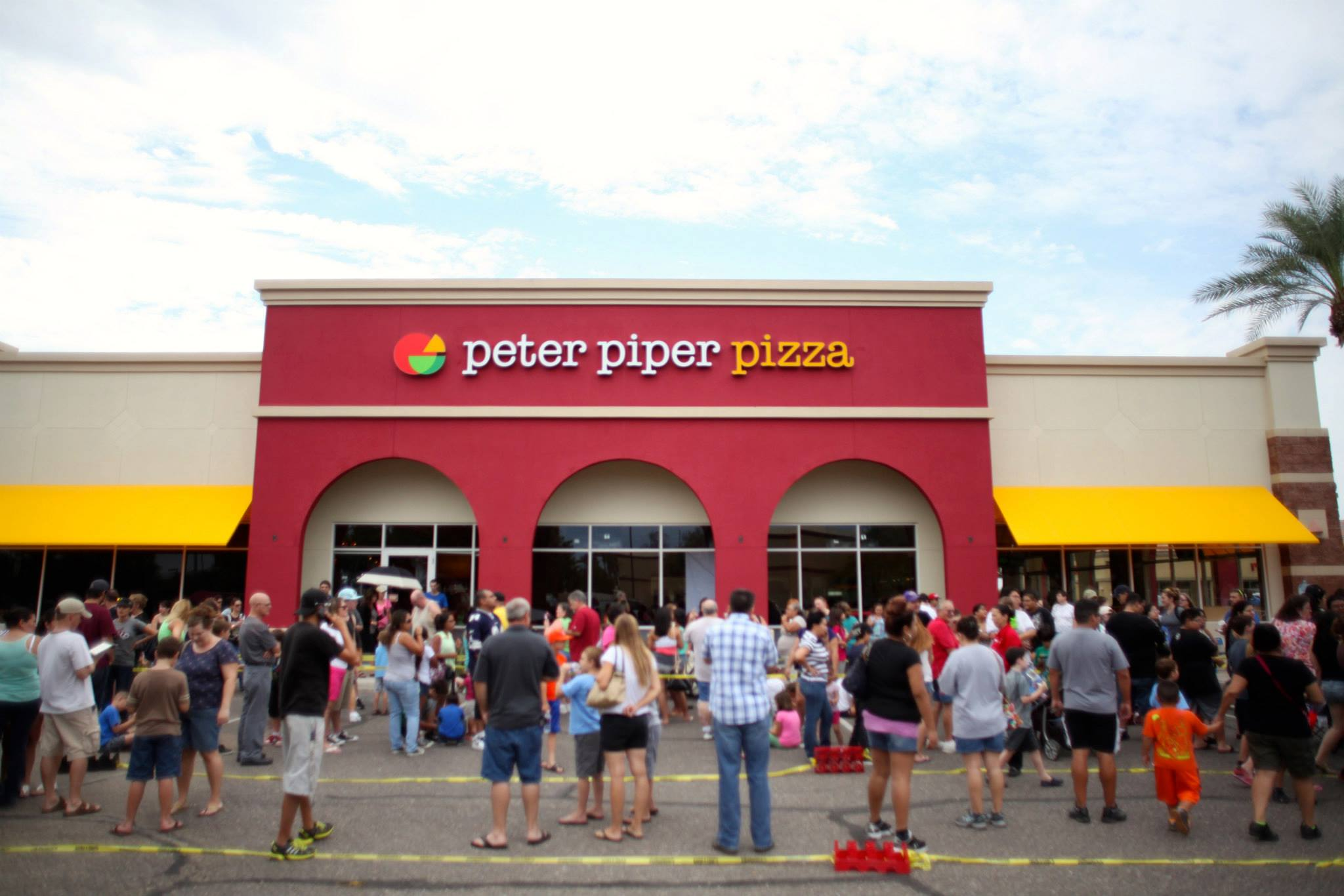 Brand New: New Logo and Restaurant Design for Peter Piper ...