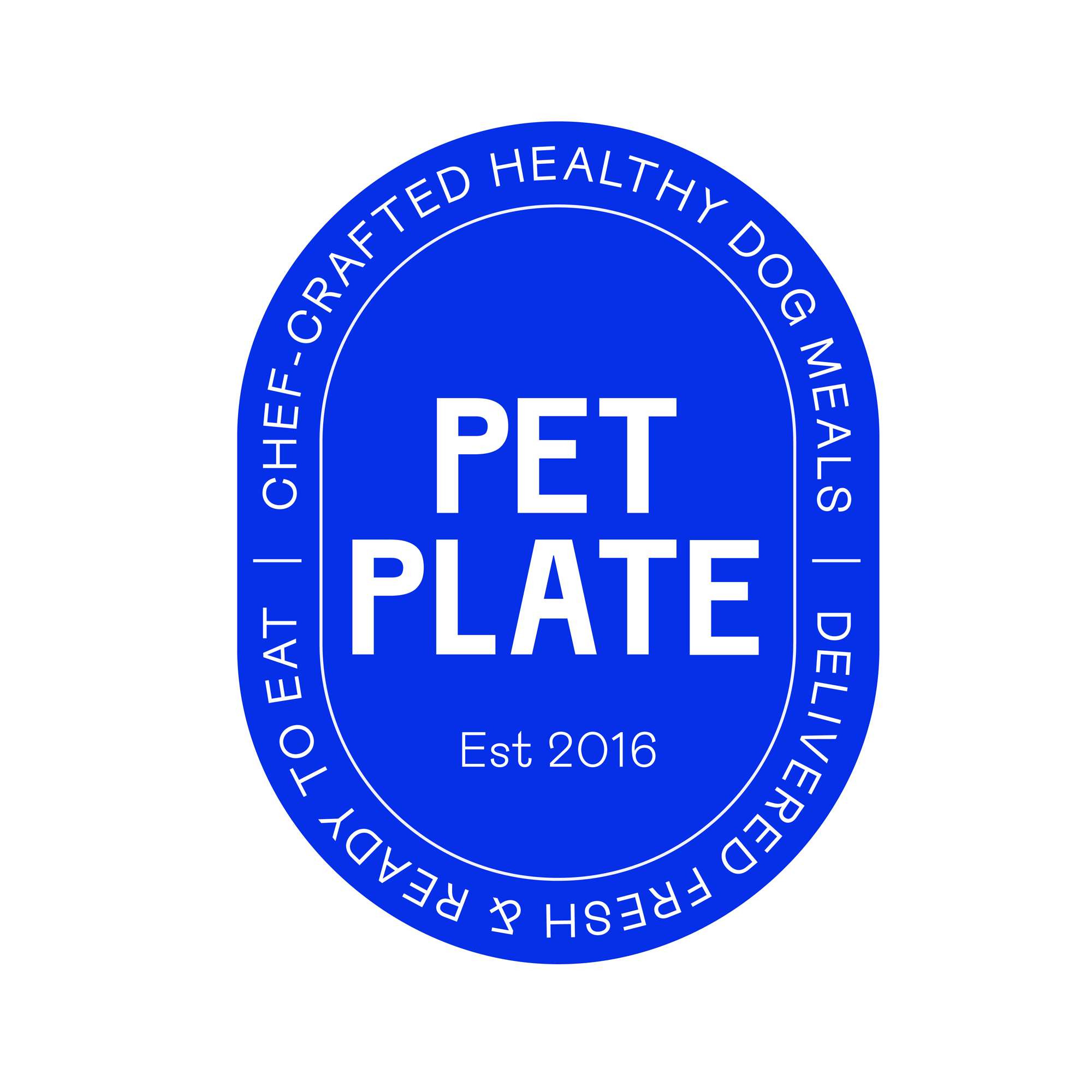 New Logo and Identity for Pet Plate by Sagmeister & Walsh and In-house