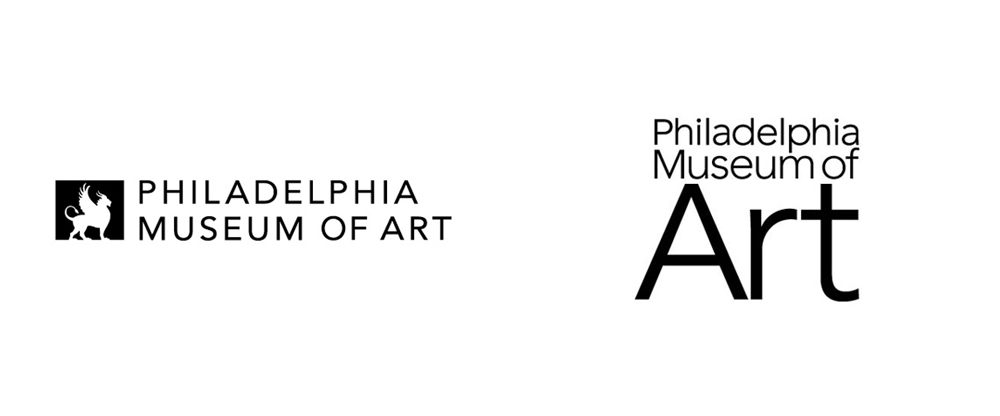 New Logo and Identity for Philadelphia Museum of Art by Pentagram