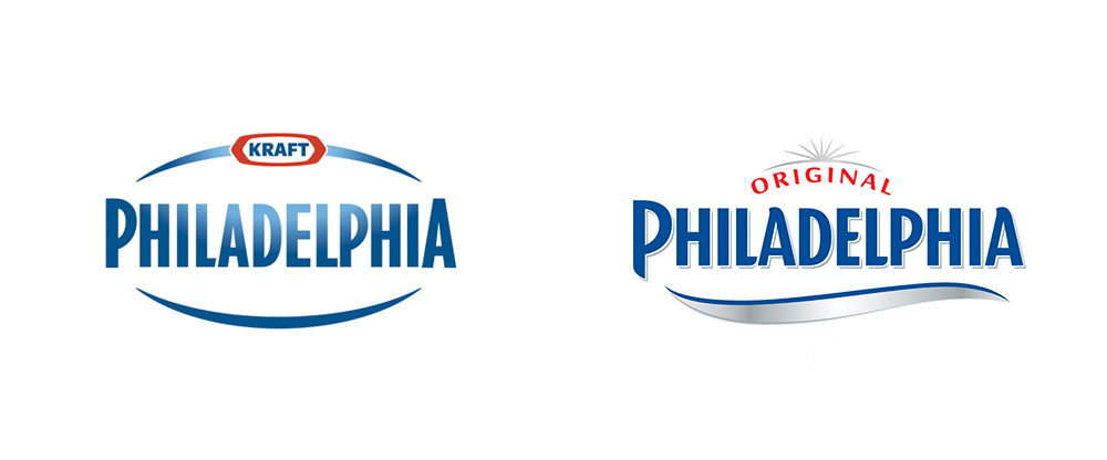 New Logo and Packaging for Philadelphia (Europe) by Dragon Rouge